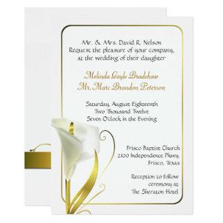 invitations faire part noces d or personnalis s. Black Bedroom Furniture Sets. Home Design Ideas