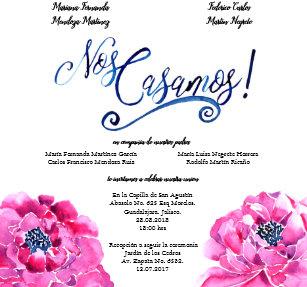 Invitations Faire Part Espagnol Zazzlefr
