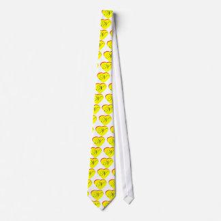 Faire-part de mariage jaune du rouge N de coeur le Cravate Customisable