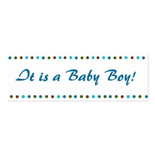 Faire-part de naissance de bébé de Minicard Modèles De Cartes De Visite