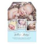 Faire-part de naissance doux de bébé de bébé