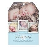 Faire-part de naissance doux de bébé de bébé moder