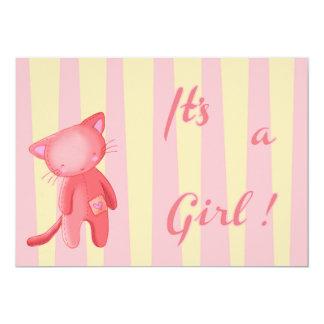 Faire-part de naissance It's a Girl