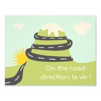 """Faire-part de naissance """"on the road"""""""