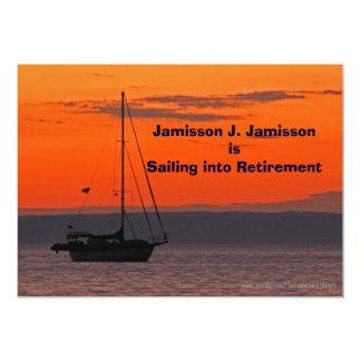 Faire-part de retraite naviguant dans la retraite