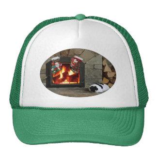 Faire une sieste par la cheminée casquettes de camionneur