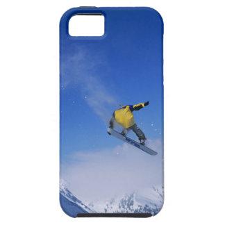 Faisant du surf des neiges dans Gulch grisâtre, Coque Case-Mate iPhone 5
