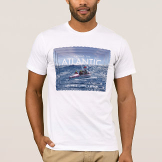 Faisant face Atlantic-3,000 aux milles - mission T-shirt