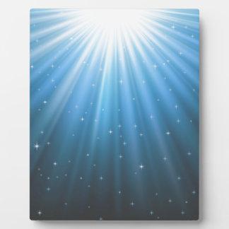 Faisceau de Sun de rayons inspiré Plaque D'affichage