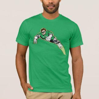 Faisceau d'énergie vert de lanterne t-shirt