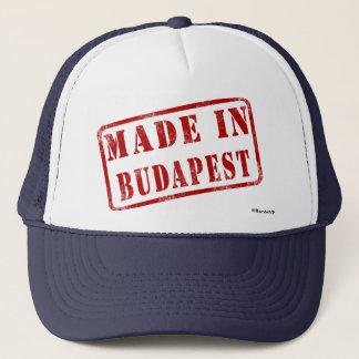 Fait à Budapest Casquette