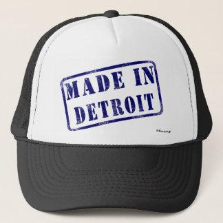 Fait à Detroit Casquette