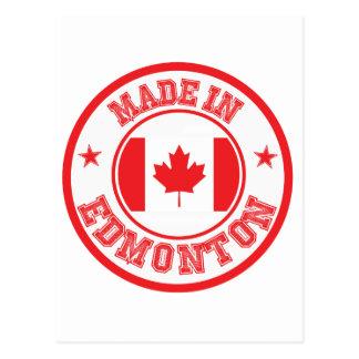 Fait à Edmonton Carte Postale