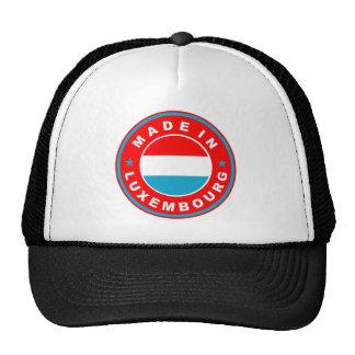 fait à l'étiquette de produit de drapeau de pays d casquette trucker