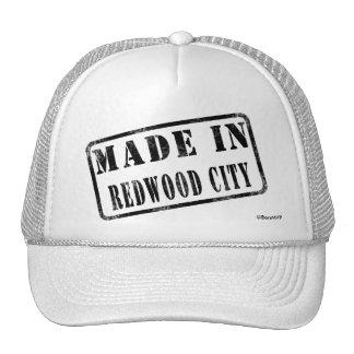 Fait à Redwood City Casquettes