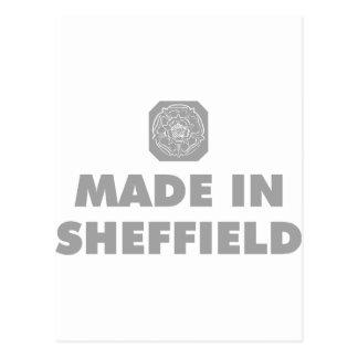 Fait à Sheffield Carte Postale