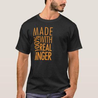 Fait avec du gingembre t-shirt