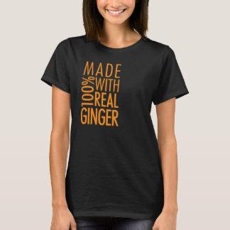 Fait avec du vrai gingembre t-shirt