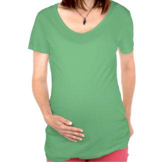 Fait avec le vin et amour t-shirt maternité