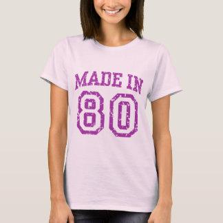 Fait dans 80 t-shirt