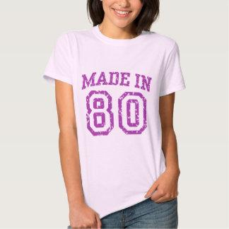 Fait dans 80 t-shirts