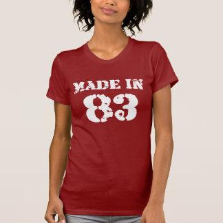 Fait dans la chemise 83 t-shirt