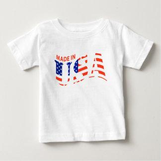FAIT DANS la chemise de bébé de conception des T-shirt Pour Bébé