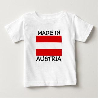 Fait dans la chemise de bébé de l'Autriche T-shirt