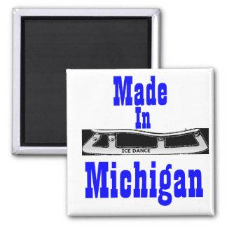 Fait dans la danse de glace du Michigan Aimant