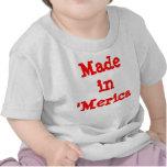 Fait dans le 'bébé de Merica T-shirts