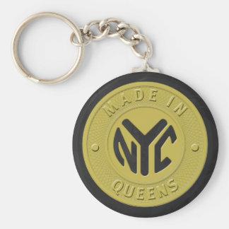 Fait dans le Queens de New York Porte-clés