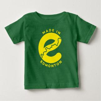 Fait dans le T-shirt de bébé d'Edmonton