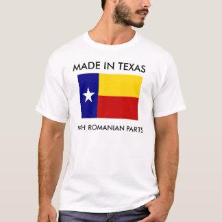 Fait dans le Texas avec les pièces roumaines T-shirt