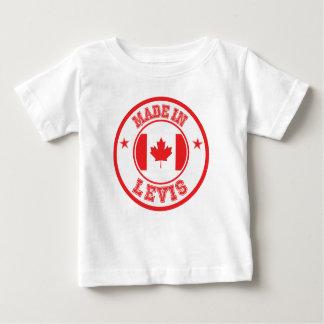 Fait dans Lévis T-shirt Pour Bébé
