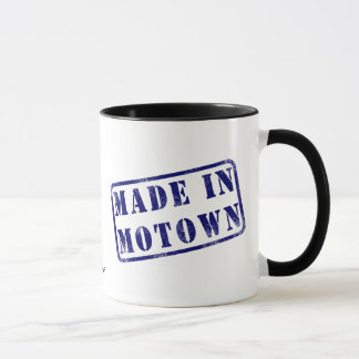 Fait dans Motown Mugs