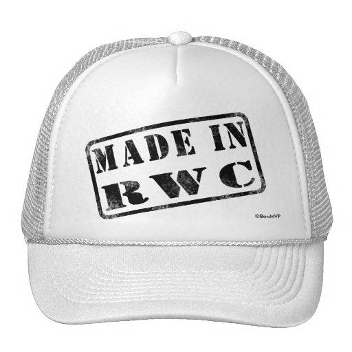 Fait dans RWC Casquettes