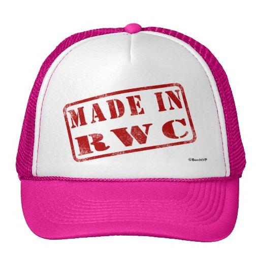 Fait dans RWC Casquette De Camionneur