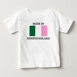 Fait dans Terre-Neuve T-shirt Pour Bébé