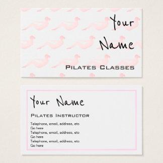 """""""Fait écho"""" des cartes de visite de Pilates"""