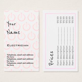 """""""Fait écho"""" des cartes des prix d'électricien"""