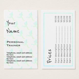 """""""Fait écho"""" les cartes personnelles des prix"""