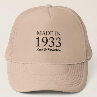 Fait en 1933 casquette