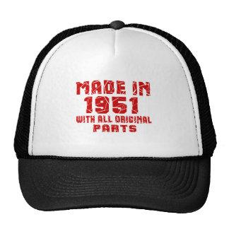 Fait en 1951 avec toutes les pièces originales casquette