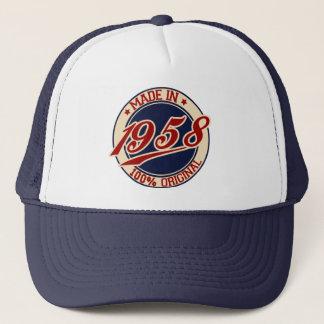 Fait en 1958 casquette