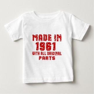 Fait en 1961 avec toutes les pièces originales t-shirt pour bébé