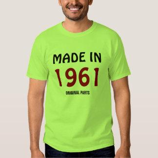 """""""Fait en 1961, modèle de T-shirt de pièces"""