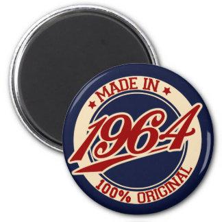 Fait en 1964 magnet rond 8 cm