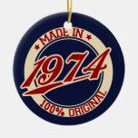 Fait en 1974 décoration de noël