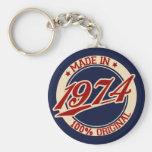 Fait en 1974 porte-clef
