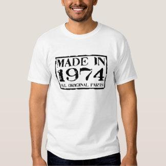 Fait en 1974 toutes les pièces d'original t-shirt